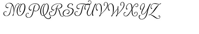Alys Light Font UPPERCASE
