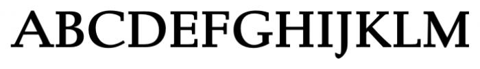 Albertan Pro Semi Bold Font UPPERCASE