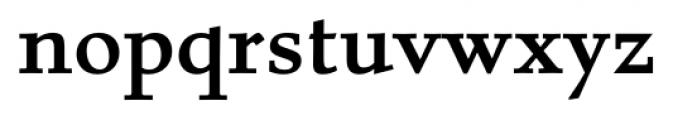 Albertan Pro Semi Bold Font LOWERCASE