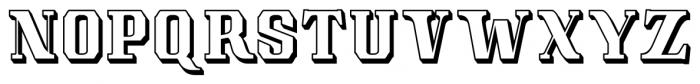 Albions Americana Black Font UPPERCASE