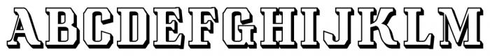 Albions Americana Black Font LOWERCASE