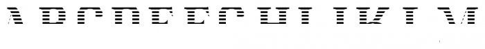 Albions Americana Red Font LOWERCASE