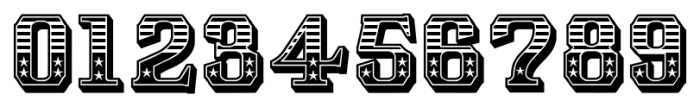 Albions Americana Regular Font OTHER CHARS
