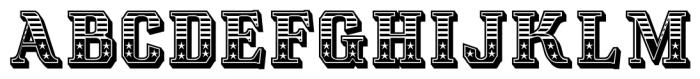 Albions Americana Regular Font UPPERCASE