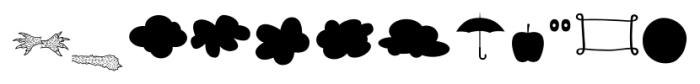 Albus Friends Font LOWERCASE