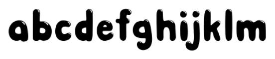 Albus Shine Font LOWERCASE