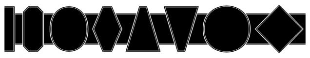 Alianza Labels Negative Font LOWERCASE