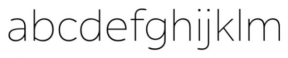 Alleyn Light Font LOWERCASE