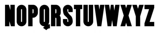 Almonte Regular Font UPPERCASE