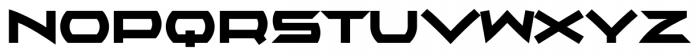 AlphaEcho Plain Font UPPERCASE