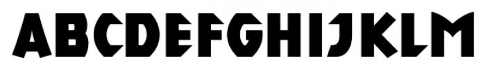 AlphaEcho Plain Font LOWERCASE