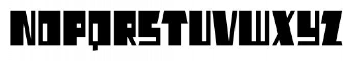 AlphaJazzAlt Regular Font UPPERCASE