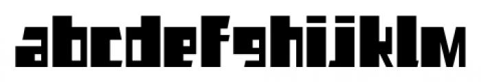 AlphaJazzAlt Regular Font LOWERCASE