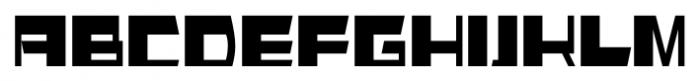 AlphaSquareAlt Regular Font UPPERCASE