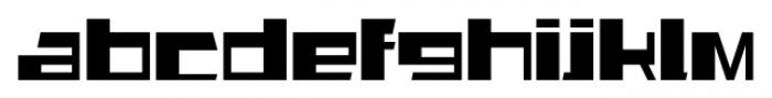 AlphaSquareAlt Regular Font LOWERCASE