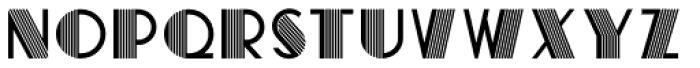 ALICIA LGf Regular Font UPPERCASE