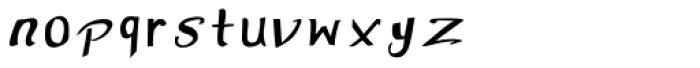 ALMONA DEWANY Font LOWERCASE