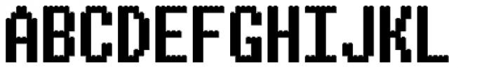 ALPHABRIX Font UPPERCASE