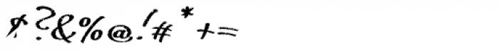 ALS FinlandiaScript Frost Font OTHER CHARS