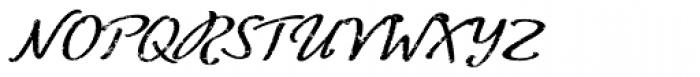 ALS FinlandiaScript Frost Font UPPERCASE