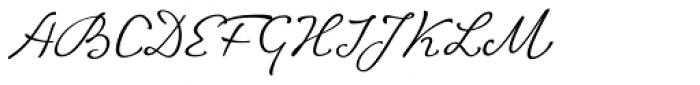 ALS FinlandiaScript Font UPPERCASE