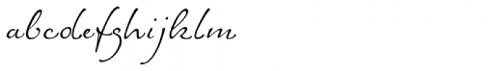ALS FinlandiaScript Font LOWERCASE