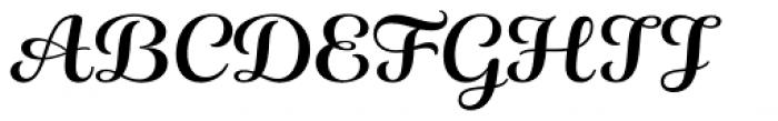 ALS Fuchsia Font UPPERCASE