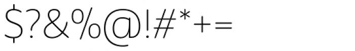 ALS Schlange Sans Light Font OTHER CHARS