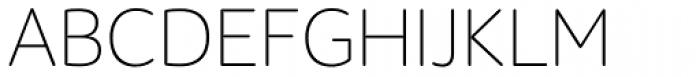 ALS Schlange Sans Light Font UPPERCASE