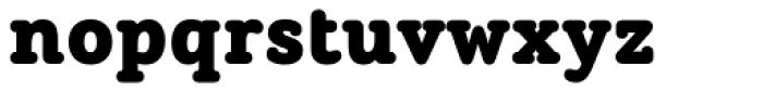 ALS Schlange Slab Black Font LOWERCASE