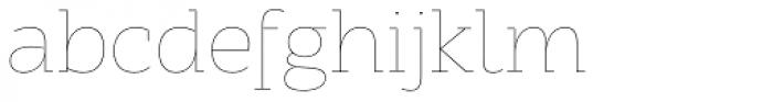 ALS Schlange Slab Thin Font LOWERCASE
