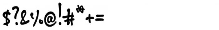 ALS SyysScript Felt Tip Font OTHER CHARS