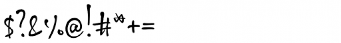 ALS SyysScript Font OTHER CHARS
