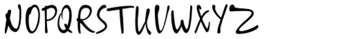 ALS SyysScript Font UPPERCASE