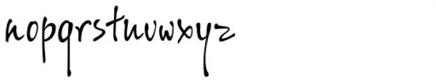 ALS SyysScript Font LOWERCASE