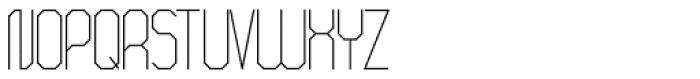 ALT Breo Light Font UPPERCASE