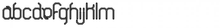 ALT Breo Negative Font LOWERCASE