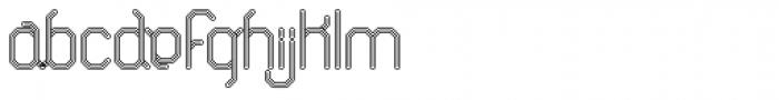 ALT Breo Positive Font LOWERCASE