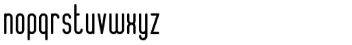 ALT Lautus Medium Font LOWERCASE