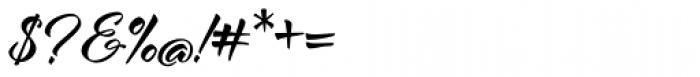 Al Fresco Basic Bold Font OTHER CHARS