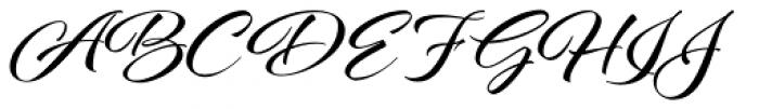 Al Fresco Basic Bold Font UPPERCASE