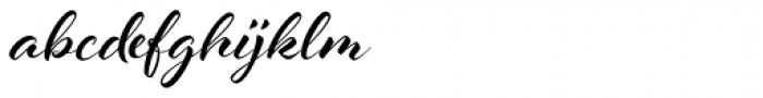 Al Fresco Basic Bold Font LOWERCASE