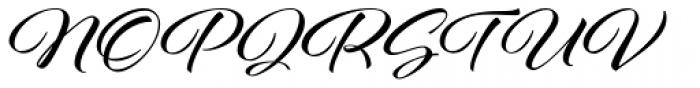 Al Fresco Bold Font UPPERCASE