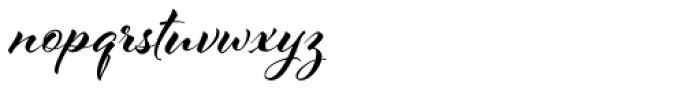 Al Fresco Bold Font LOWERCASE