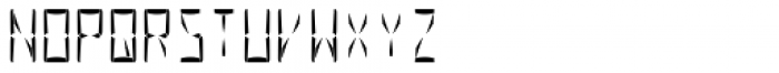 Al Seg23 Regular Font UPPERCASE