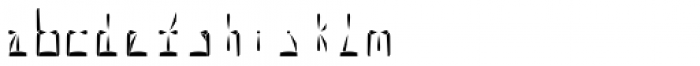 Al Seg23 Regular Font LOWERCASE