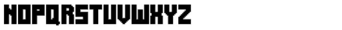 Alabaster Micro Basic II Font UPPERCASE