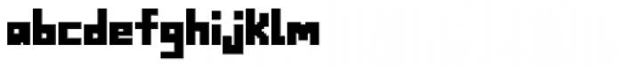 Alabaster Micro Basic II Font LOWERCASE