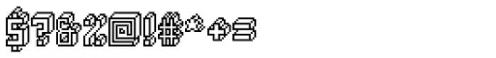 Alabaster Micro Regular Font OTHER CHARS
