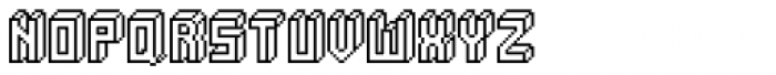 Alabaster Micro Regular Font UPPERCASE